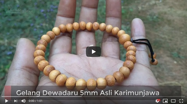 Gelang Dewadaru 5mm Asli Karimunjawa