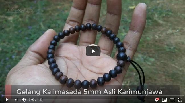 Gelang Kalimasada 5mm Asli Karimunjawa