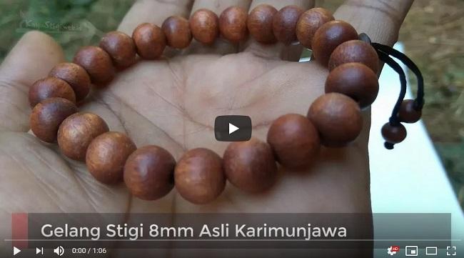Gelang Stigi 8mm Asli Karimunjawa