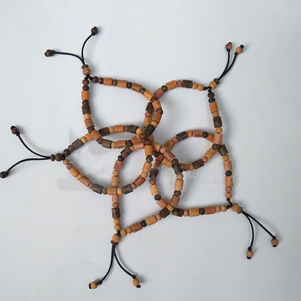 gelang kayu 3 kayu karimunjawa