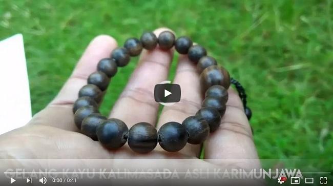 Gelang Kayu Kalimasada Asli Karimunjawa